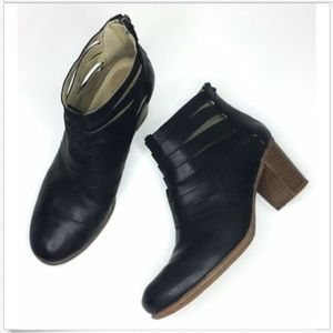 Josef Seibel Zip Bonnie Ankle Booties 37 6 Leather
